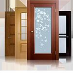 Межкомнатные двери: классические, стеклянные, складные