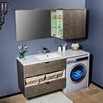 Мебель и зеркала для ванной комнаты: Шкафы, пеналы напольные, пеналы подвесные, тумбы с раковиной, тумбы со столешницей, зеркала