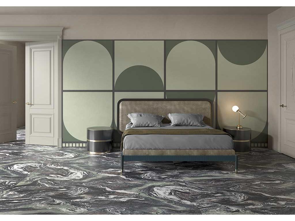 Коллекция плит крупного формата Cedit Policroma, Италия - совмещая мрамор и марморино с контрастными рамками