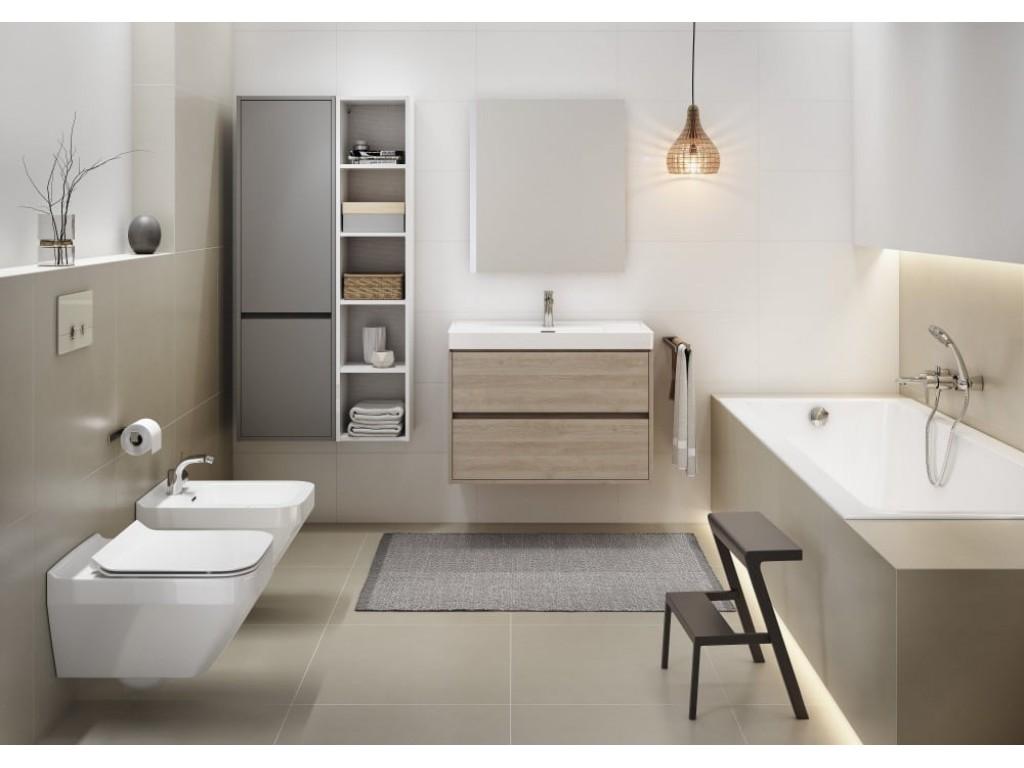 Сантехника Cersanit Crea — новая коллекция для ванной комнаты: тонкостенные раковины и ванны