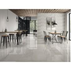 Керамогранит Selecta Carrara White Plus - белый мрамор от Ibero, Испания