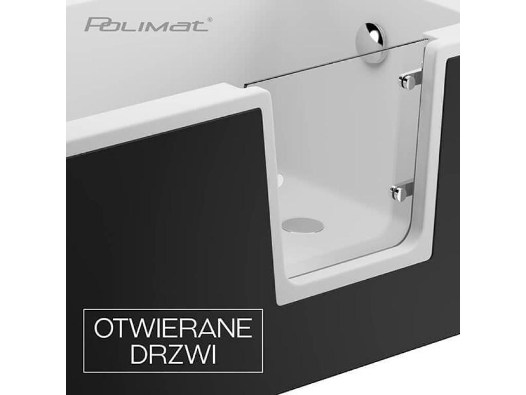 Акриловые ванны для пожилых людей и инвалидов AVO, VOVO и PERE польской фабрики Polimat
