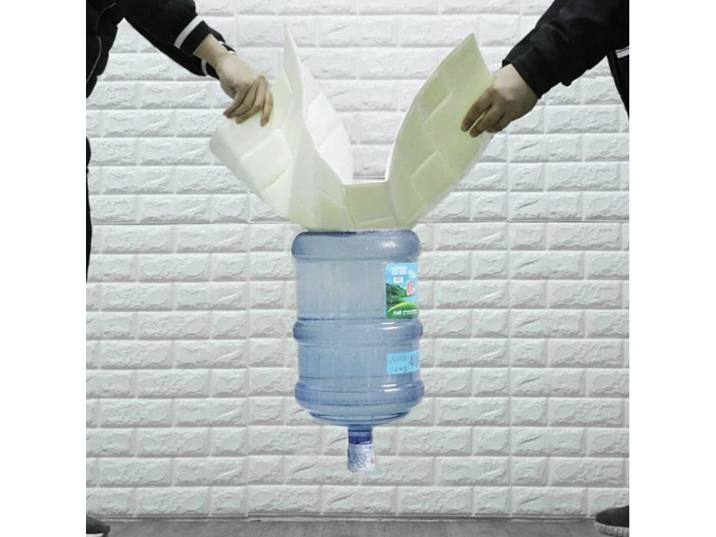 Декоративные самоклеящиеся 3D панели под кирпич и дерево Sticker Wall