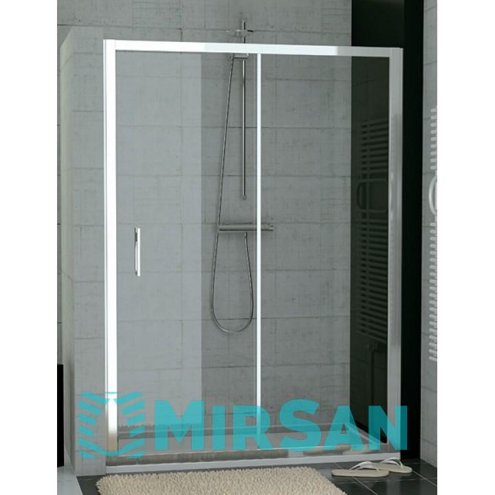 Душевые кабины San Swiss VAL212000460 Valea Душевые двери 1200x1900,бел/прозр стекло