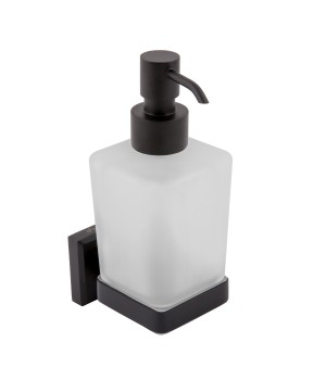 Дозатор жидкого мыла Leonardo OC0000492 Aqua Rodos черный матовый
