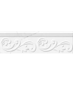 Kерамическая плитка Golden Tile Absolute Фриз Modern белый/черный 300х90