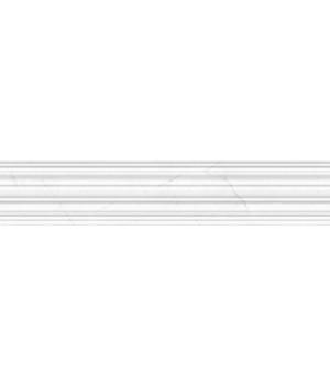 Kерамическая плитка Golden Tile Absolute Фриз Modern белый/черный 300х60