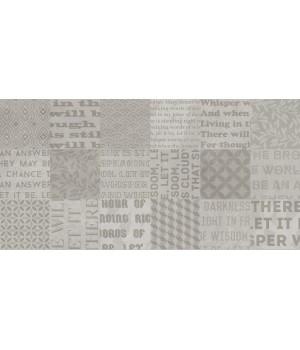 Kерамическая плитка Golden Tile Abba Стена Patchwork серый 300х600