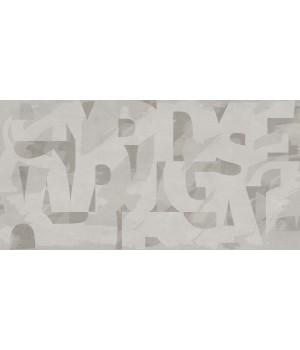 Kерамическая плитка Golden Tile Abba Стена Graffiti серый 300х600