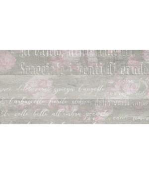 Kерамическая плитка Golden Tile Abba Стена Flowers серый 300х600