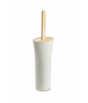 Ершик туалетный напольный, цвет белый/золото Pomdor Belle 769050318