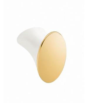 Крючок , цвет белый/золото Pomdor Belle 763001008