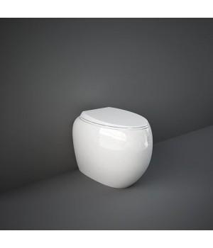 Унитаз напольный CLOWC1346AWHA RAK Cloud, белый глянец