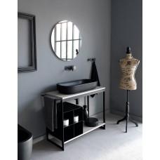 Комплект для ванной комнаты для умывальника 100 см Solid Scarabeo