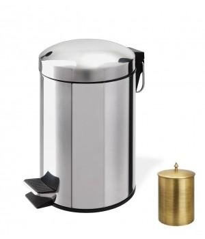 Контейнер для мусора 5 л с педалью StilHaus 478.5l.25 бронза