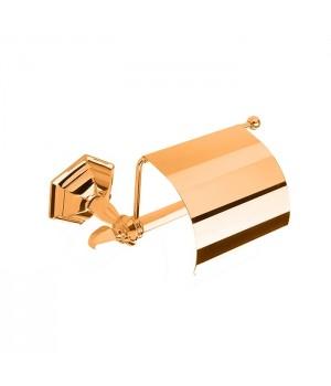 Бумагодержатель с крышкой StilHaus Marte MA 11C 16 золото