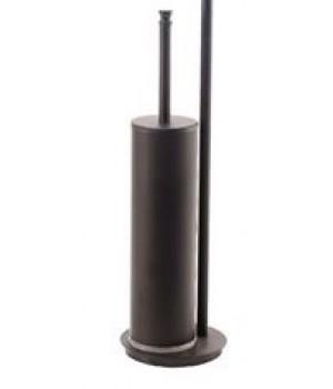 Напольный металлический ершик StilHaus Hashi 010 23 матовый черный