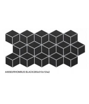 Керамогранит Realonda RHOMBUS BLACK 265x510x10