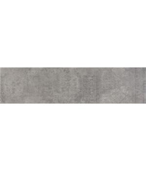 Kерамическая плитка Argenta Indore Grey декор 900×225