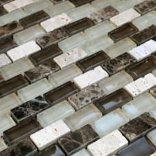 Декоративная мозаика Bareks DAF100 300x300 мрамор,стекло