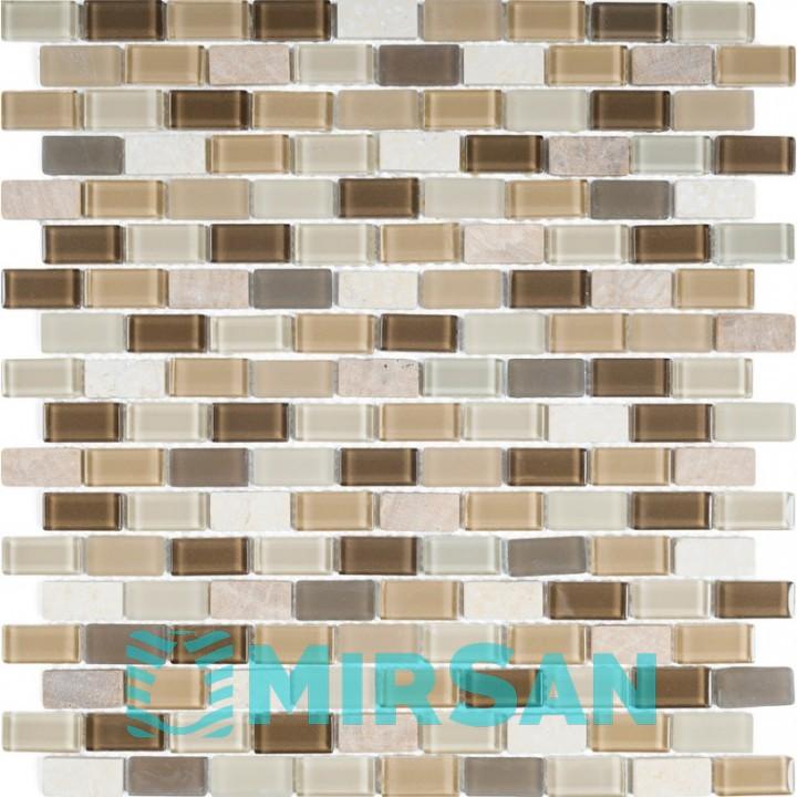 Декоративная мозаика Bareks DAF101 305x305 мрамор,стекло