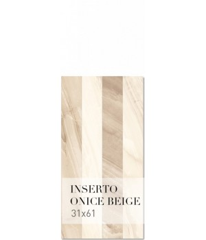 Kерамическая плитка Bellavista Onice Beige Inserto 310x610x8 391805