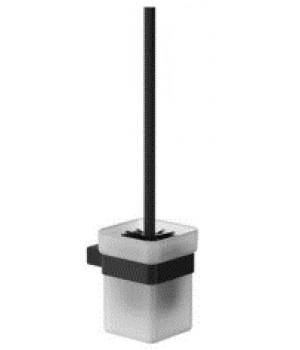 Щітка для унітазу Pompei GW05630403, скло сатин-чорний мат.