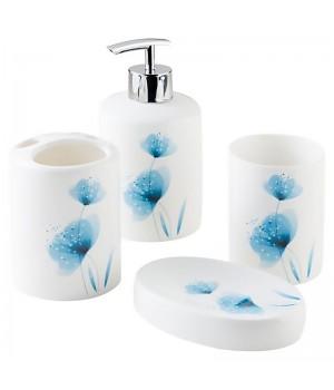 Набор для ванной комнаты Flower Bisk