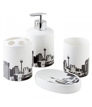 Набор для ванной комнаты City Bisk