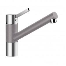 Кухонный каменный смеситель Blanco TIVO Хром/Алюметаллик (517601)