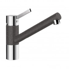 Кухонный каменный смеситель Blanco TIVO Хром/Антрацит (517600)