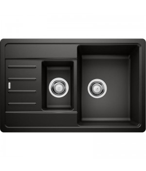 Каменная кухонная мойка Blanco LEGRA 6 S Compact Черный (526085)