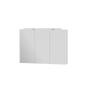 Дзеркальна шафа Vanessa - 100 білий Botticelli