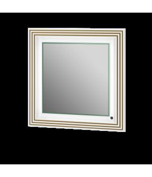 Дзеркало Treviso - 80 білий/золото Botticelli