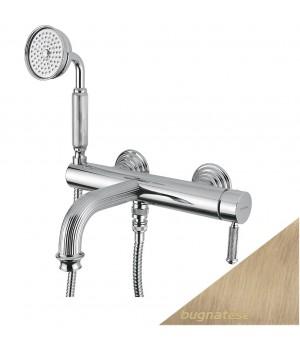 Смеситель для ванны в комплекте бронза Bugnatese Athena ATHBR8502