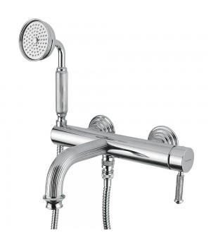 Смеситель для ванны в комплекте хром Bugnatese Athena ATHCR8502