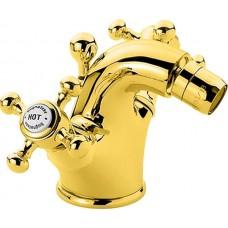 Смеситель для биде в комплекте золото Bugnatese Lady LADDO944