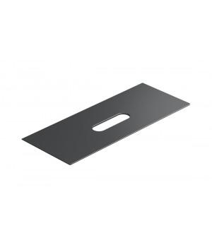 Столешница керамическая Catalano Horizon 125x50 см, nero mat