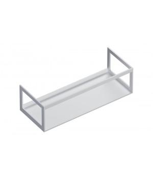 Алюминиевая конструкция для керамических столешниц Catalano Horizon 125x50, белый матовый