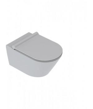 Унитаз Catalano Zero 1VS55NRCS подвесной безободковый 35x55 см серый матовый