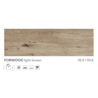 Плитка Cersanit FORWOOD  Light Brown 18,5X59,8 G1