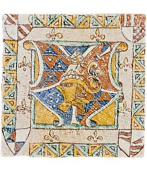 Kерамическая плитка Del Conca Sassofeltro BLASONI A/HSF 100x100x10,5