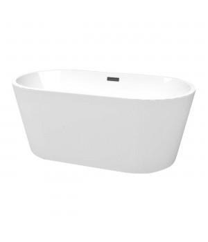 Акриловая ванна DEVIT 18080136 OVALE Freestanding buthtube 1780*800*580