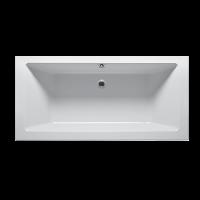 Акриловая ванна Devit Lusso New 17175135 Ванна 170х75 + ножки set01u, тонкий борт