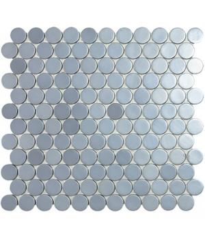 Мозаїка 30,1*31,3 Aluminio Circle 253C VIDREPUR