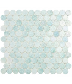 Мозаїка 30,1*31,3 Crystal Mint Circle 573C VIDREPUR