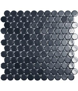 Мозаїка 30,1*31,3 Br Black Circle 6005C VIDREPUR