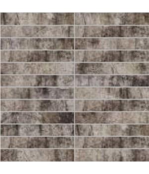 Мозаїка 30*30 Oxydum Iron (Tozz. 2,5*15) LA FENICE CERAMICHE