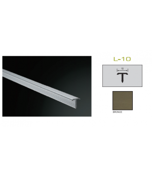 Бордюр 1*0,9*250 Bronce Plasdecor