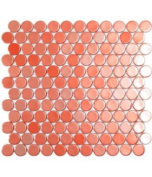 Мозаїка 30,1*31,3 Br Live Coral Circle 6002C VIDREPUR